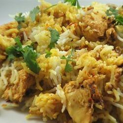 Chicken Biryani, Hyderabadi Style Priya