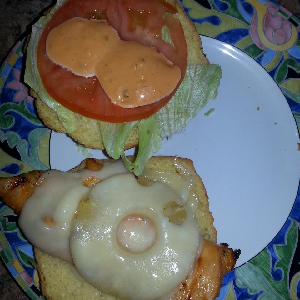 Grilled Hawaiian Chicken and Pineapple Sandwiches Tera