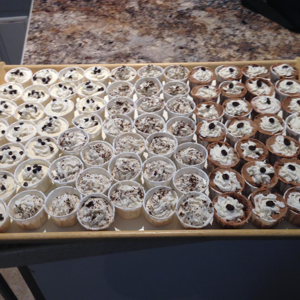 Chocolate Pudding Shots Gillian Saidman