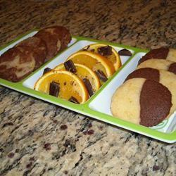 Chocolate Orange Cookies kate/gretchen