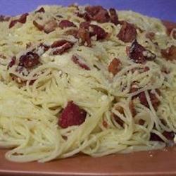 Bacon Spaghetti Dali