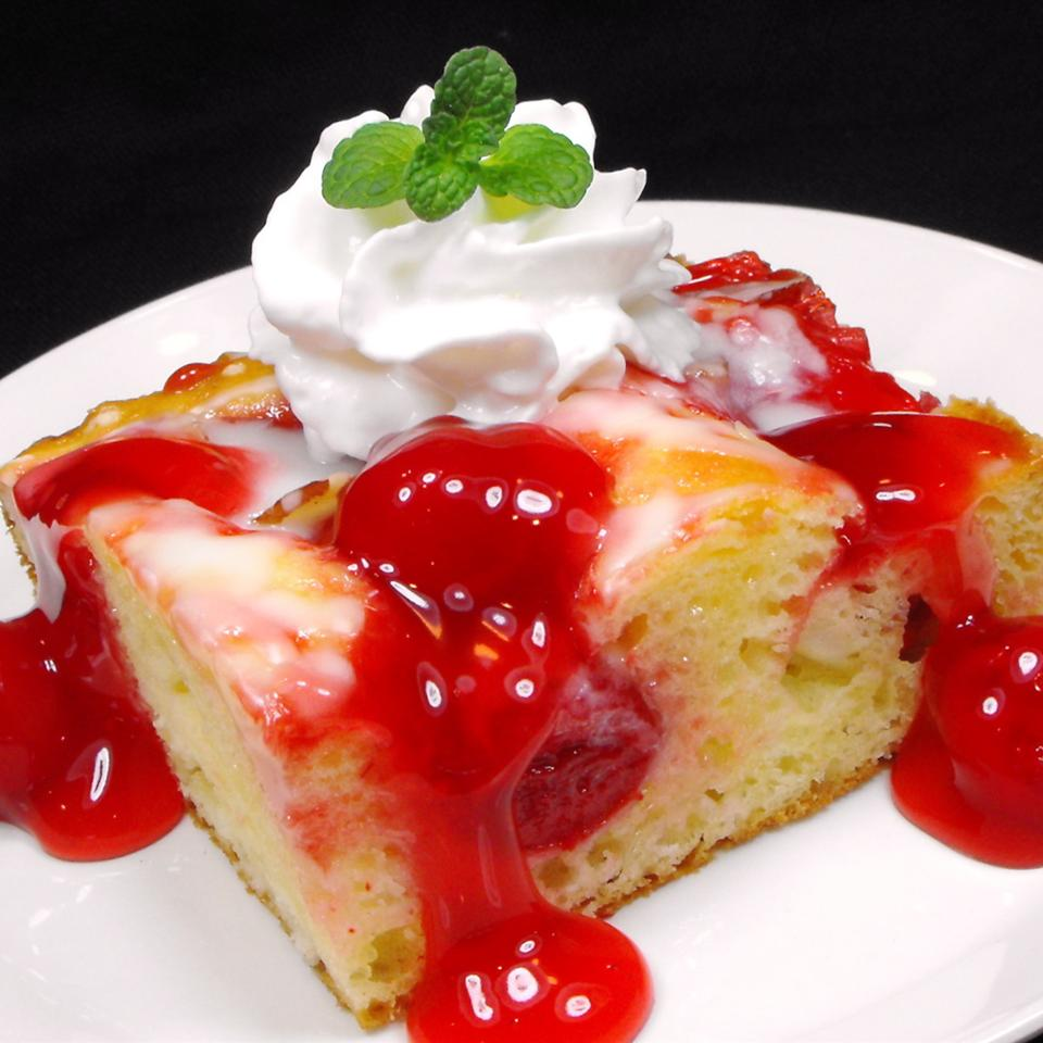 Cherry Almond Coffeecake Glenda