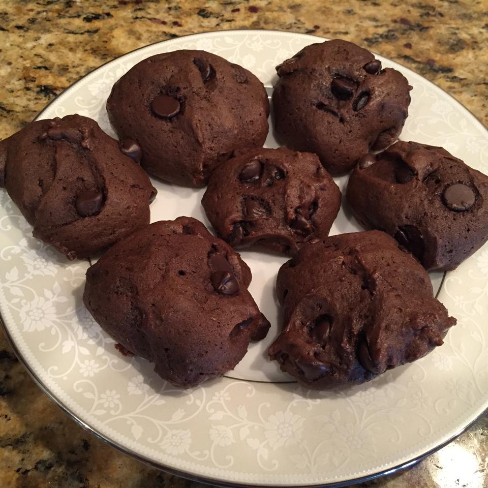 Puffy Chocolaty Chip Cookies