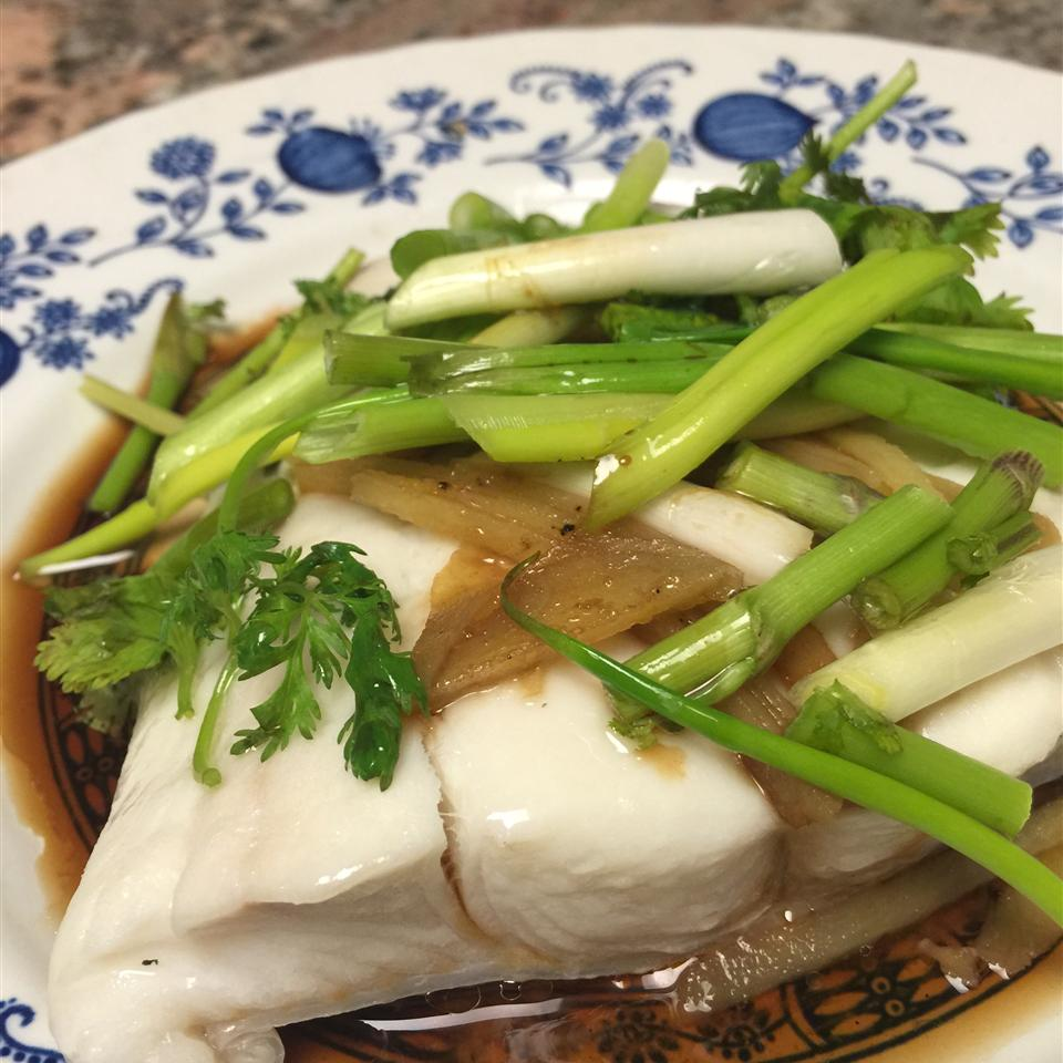 Steamed Fish with Ginger KissMint