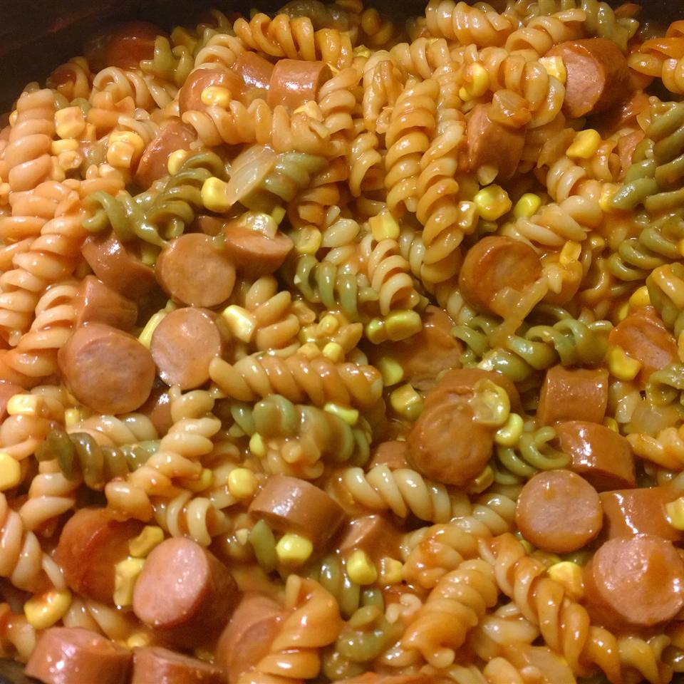Momma's Hot Dog Casserole