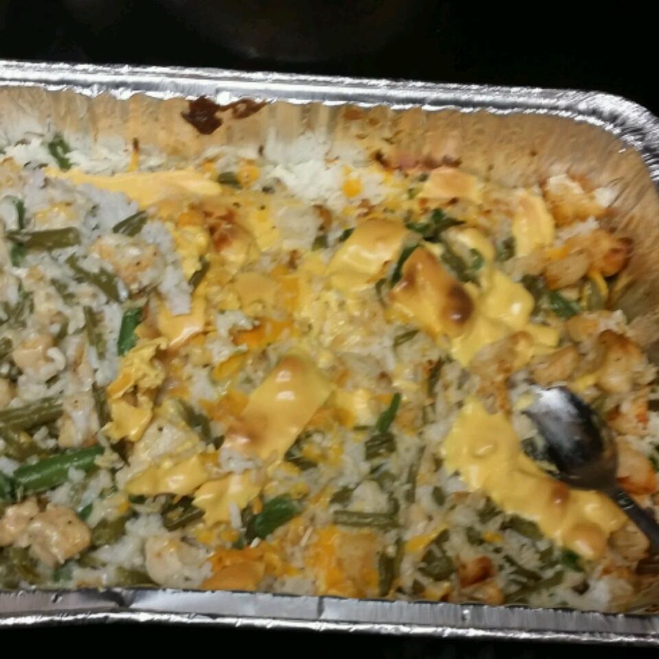 Chicken, Rice, and Green Bean Casserole Kentron Washington