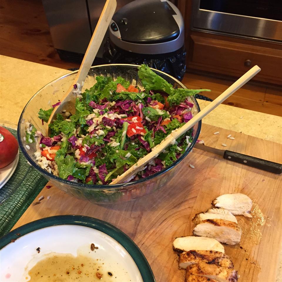 Seattle's Favorite Kale Salad Michael