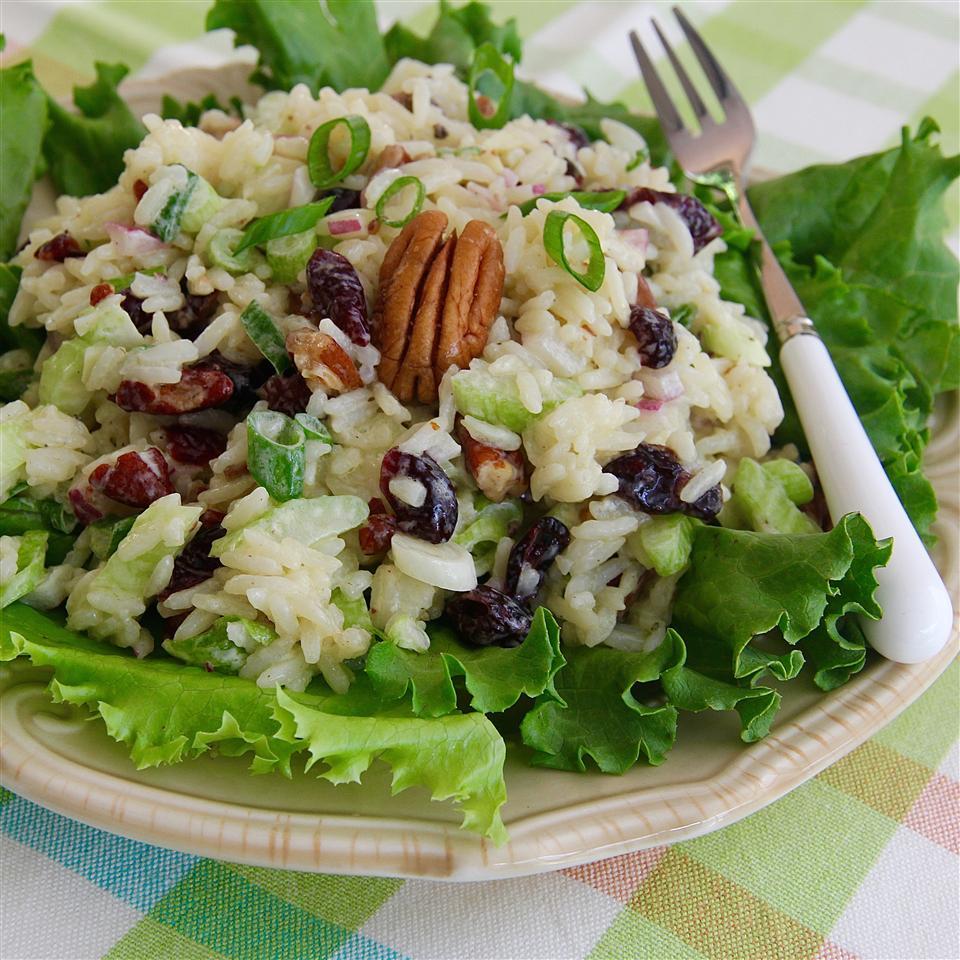 Fruity Rice Salad and Orange Vinaigrette