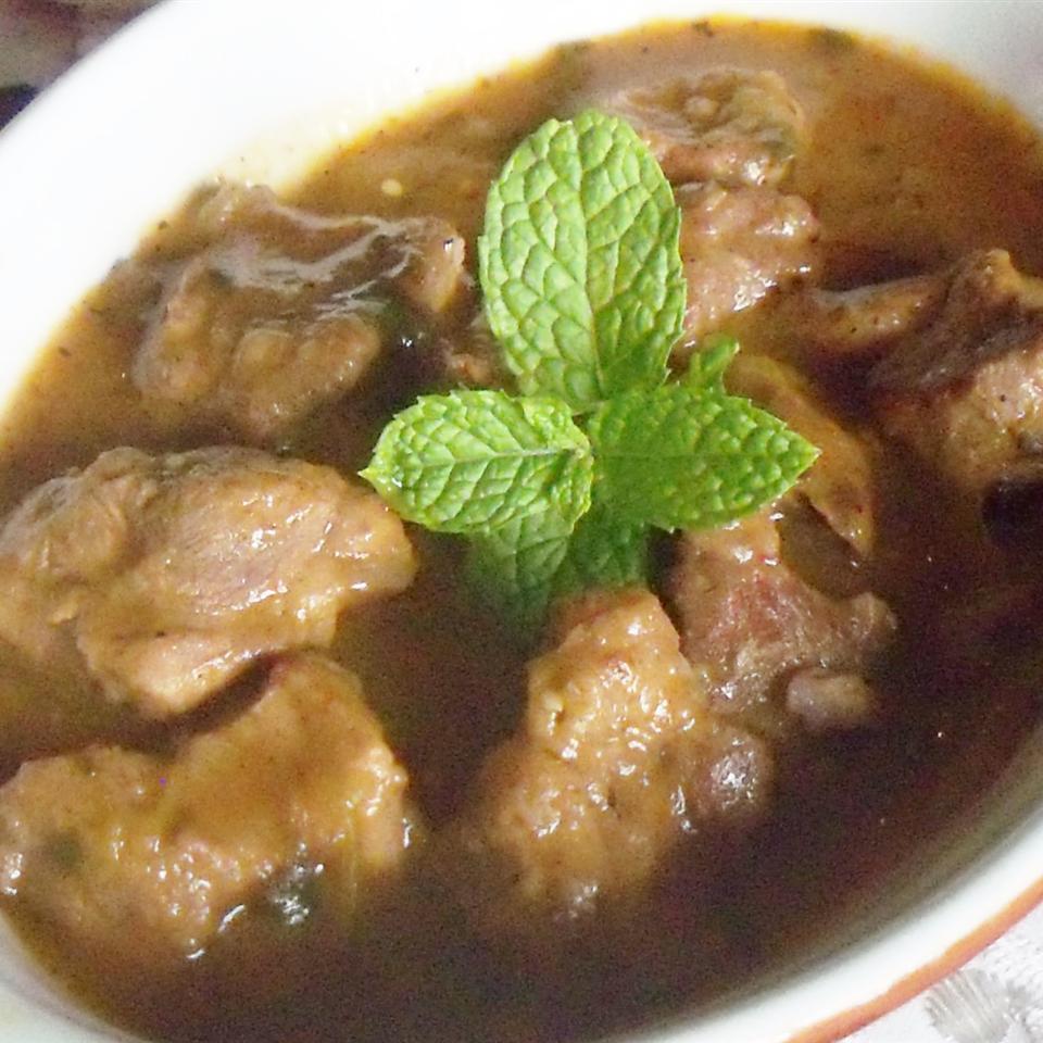 Pork Stew in Green Salsa (Guisado de Puerco con Tomatillos)