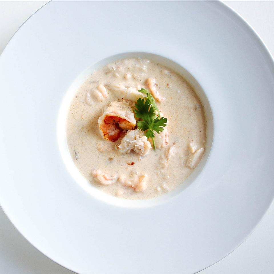 Creamy Shrimp and Crab Bisque