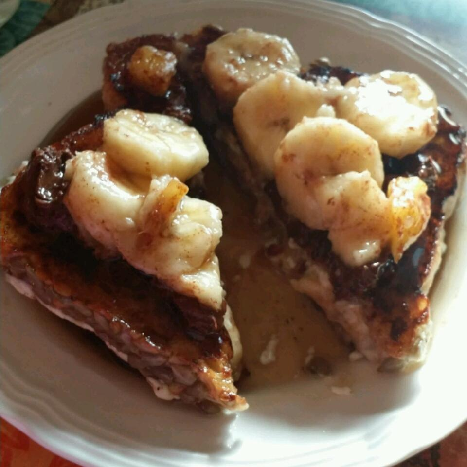 Pineapple-Stuffed French Toast