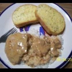 Baked Chicken-Fried Steak with Mushroom Gravy Faith N