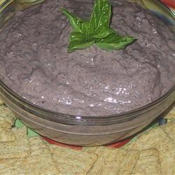 Black Bean Hummus with Tahini sueb