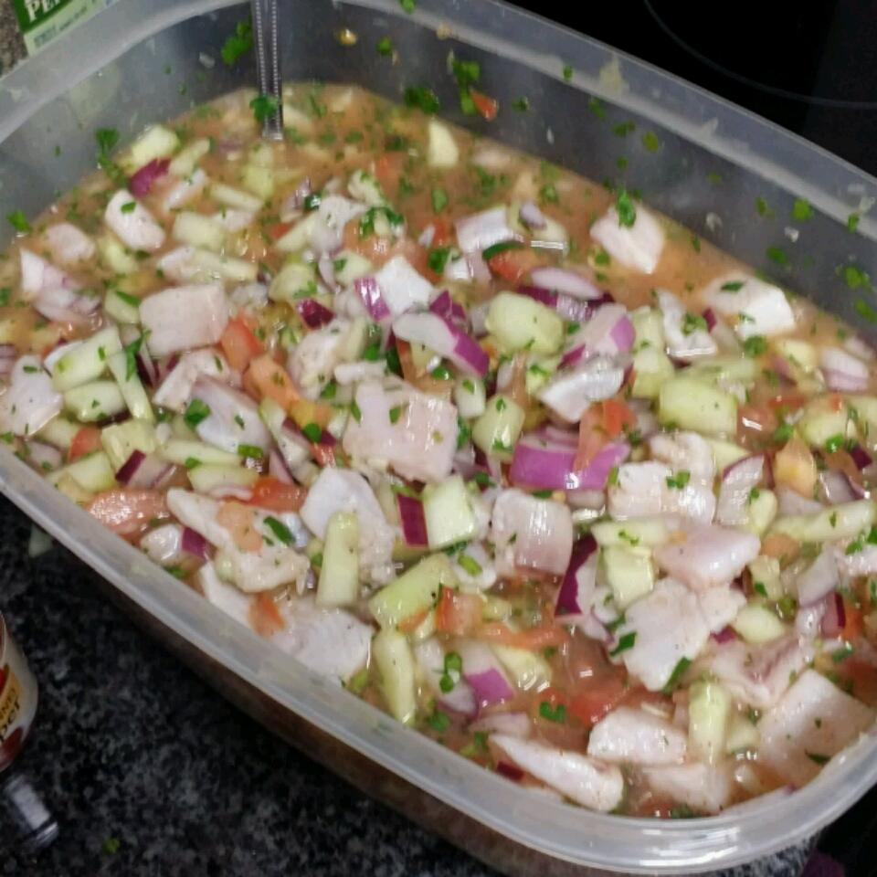 Tilapia Ceviche Tequila