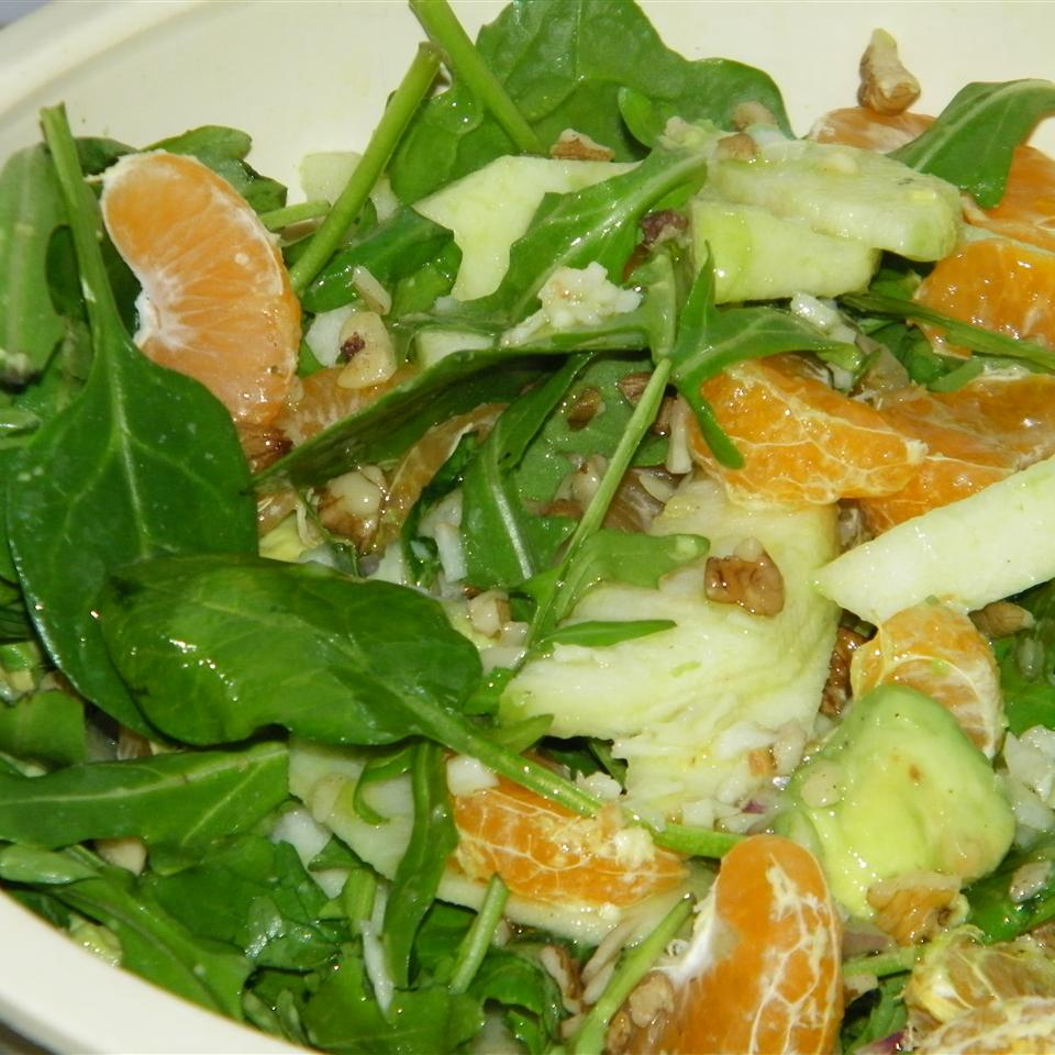 Apple Avocado Salad with Tangerine Dressing Seattle2Sydney