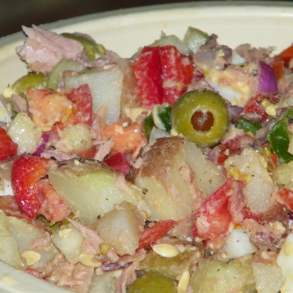 Pipirrana (Spanish Potato Salad) Seattle2Sydney