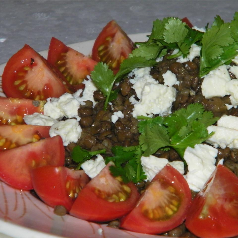 French Lentil Salad with Goat Cheese Seattle2Sydney