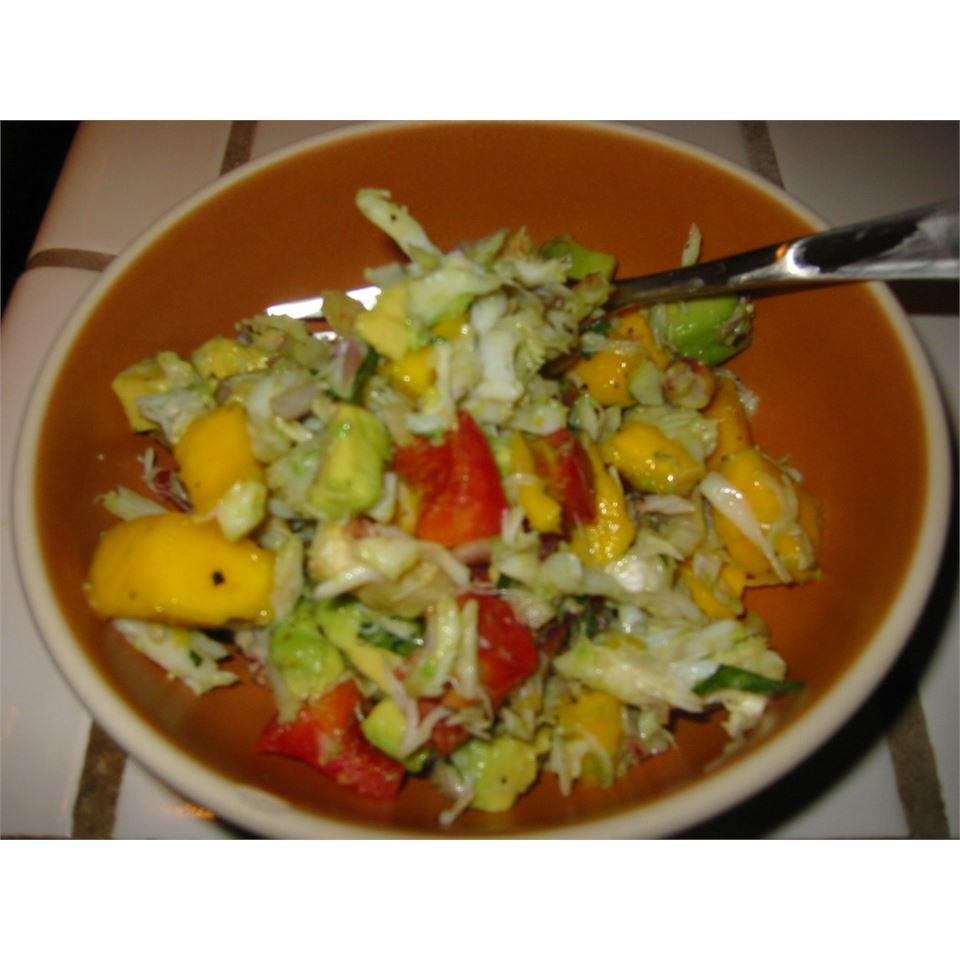 Crab & Avocado Salad with Fruit Salsa MAXMSF