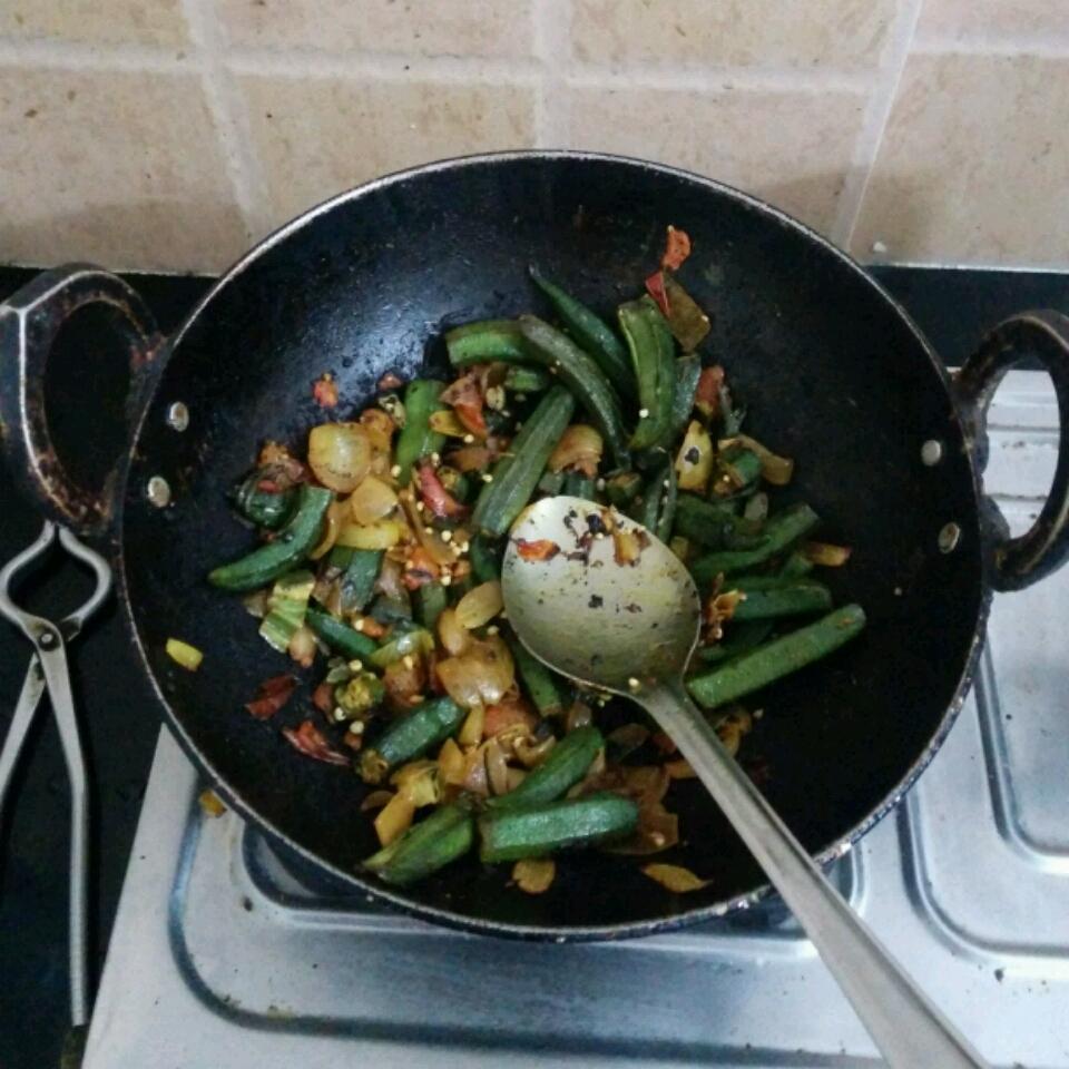 Chef Kiran's Okra Stir Fry Anand Surendran