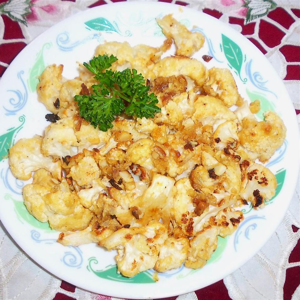 Dijon Roasted Cauliflower Yoly