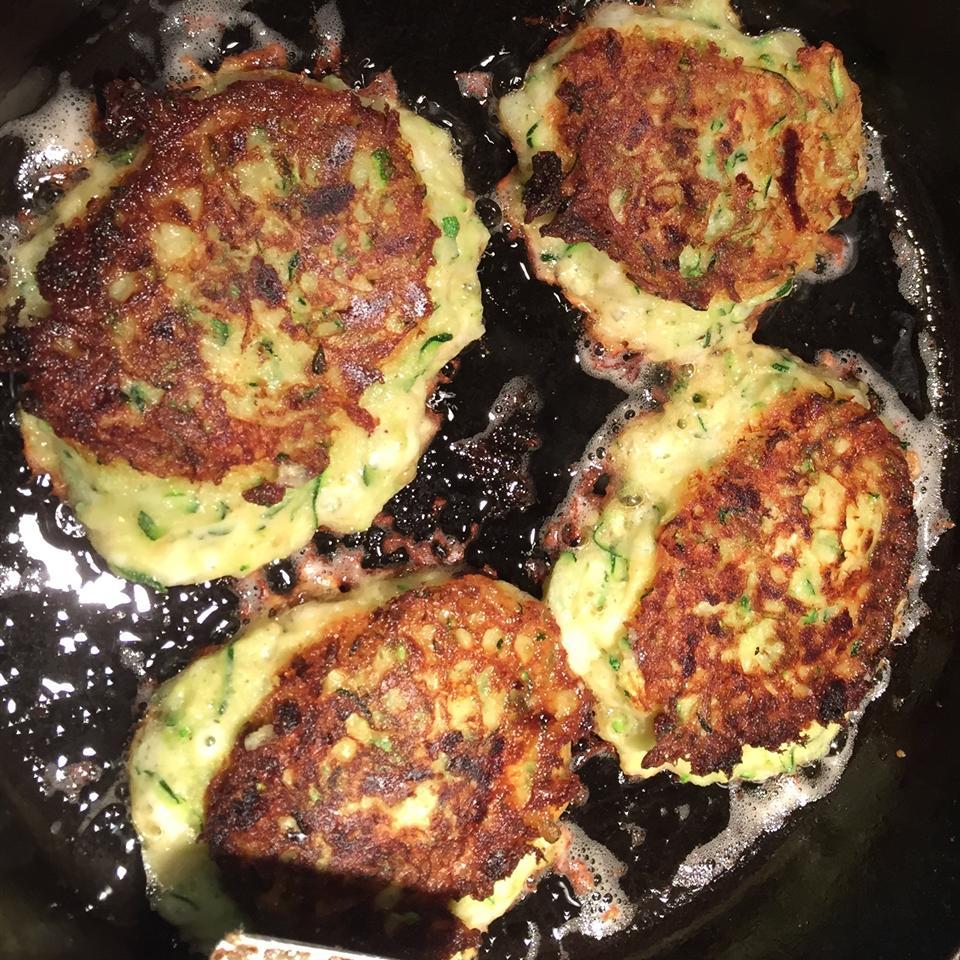 Mom's Zucchini Pancakes ZOEY ANNA