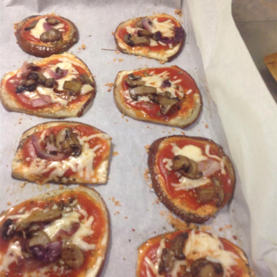 Flourless Eggplant Pizza mjmacres