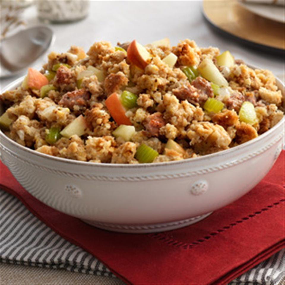 Sausage & Apple Stuffing Trusted Brands
