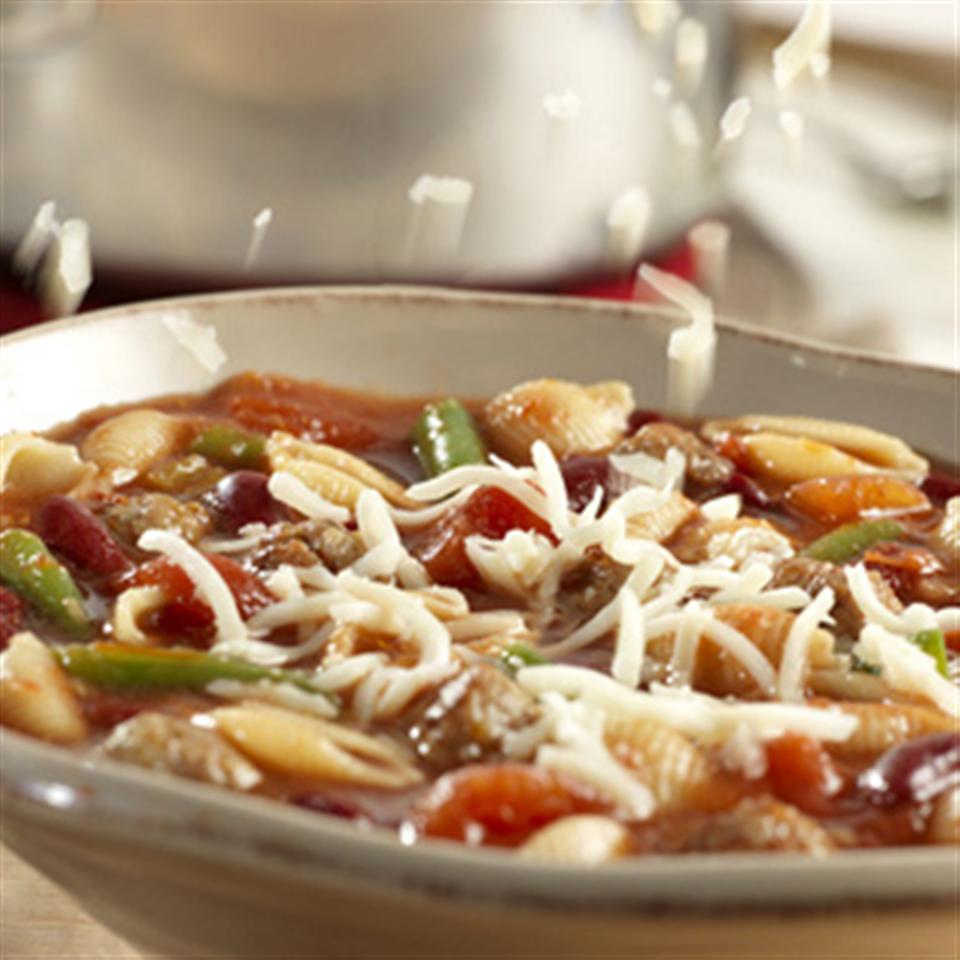 Spicy Mexican Minestrone Stew
