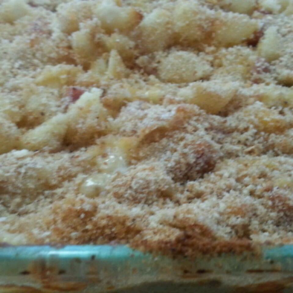 Ham and Cheese Pasta Casserole