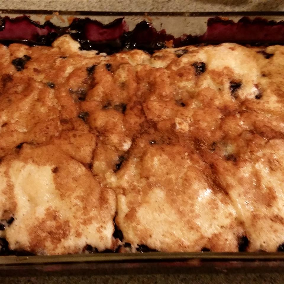 Yummy Blueberry Cobbler Tina