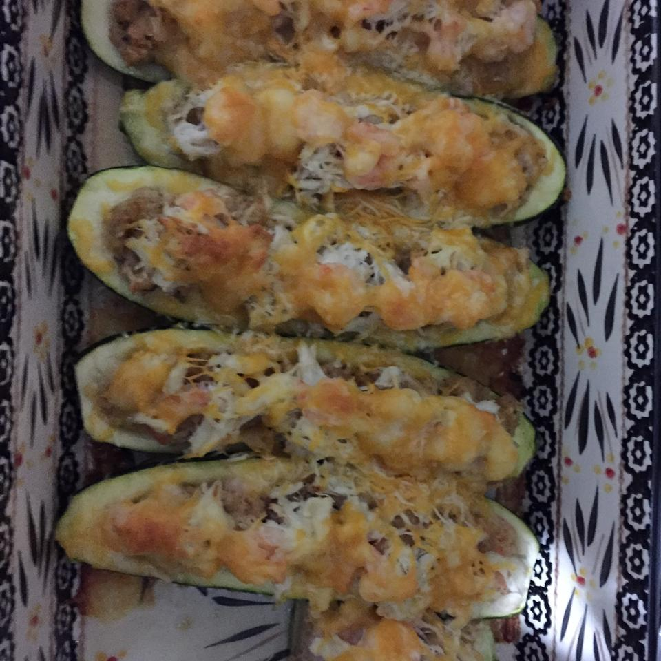 Mandy's Crab Stuffed Zucchini Terrence