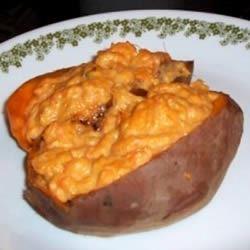 Twice Baked Sweet Potatoes Kimberly