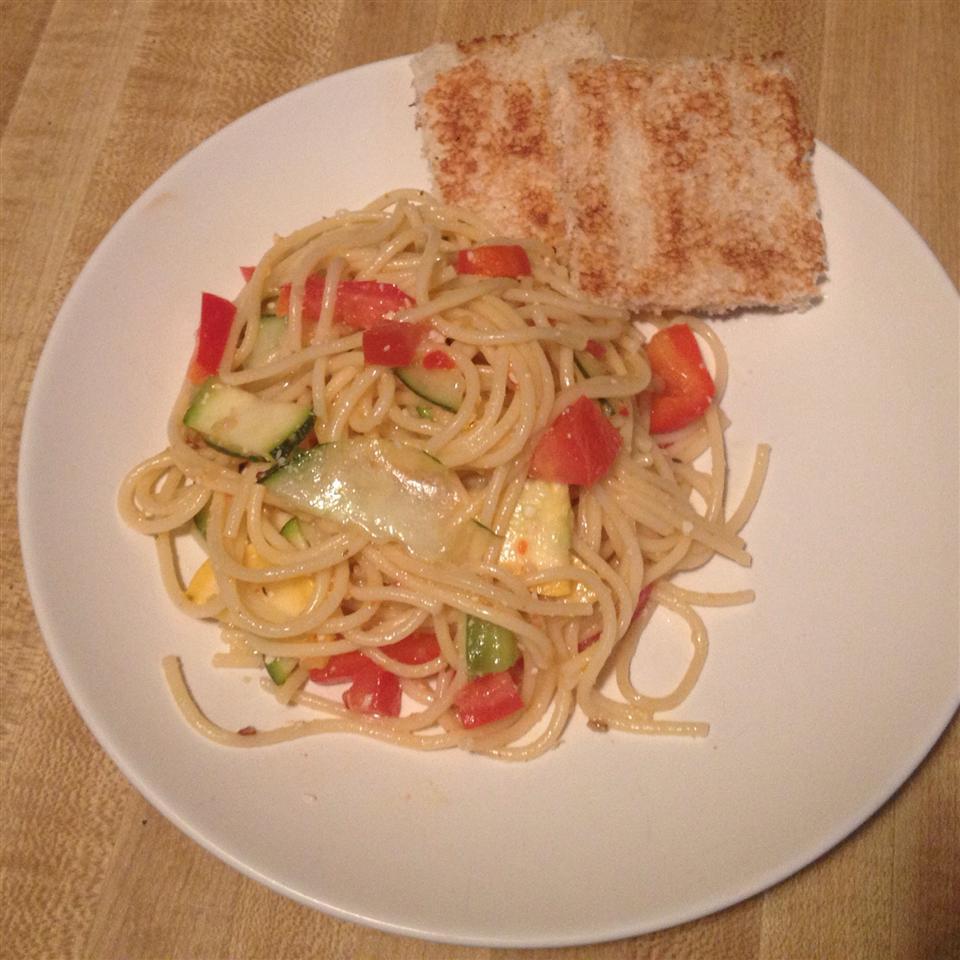 Spaghetti Salad I Chef P