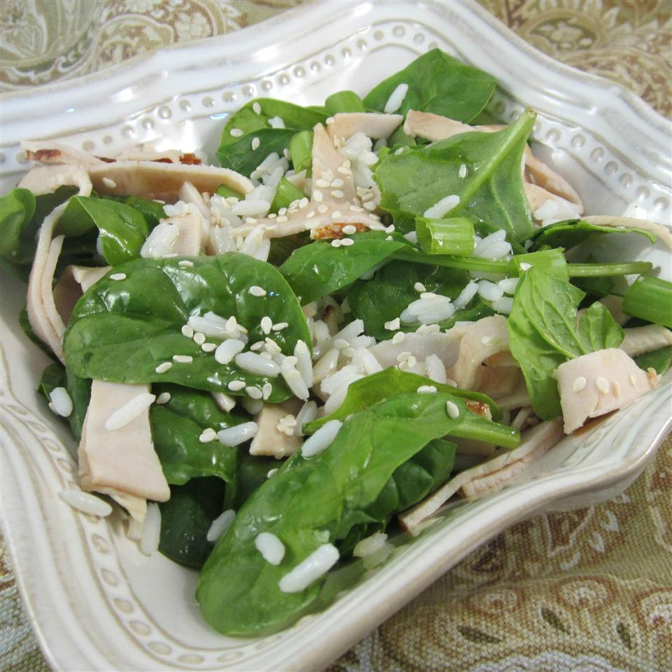 Turkey and Spinach Rice Bowl Deb C