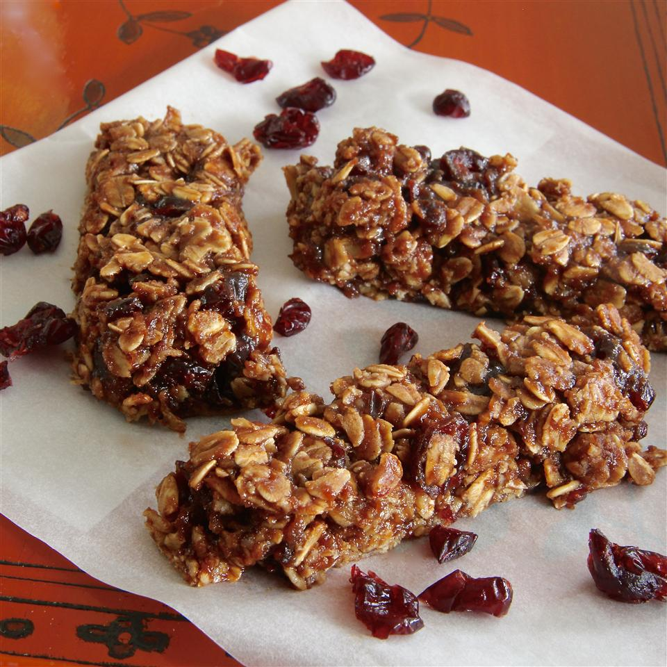 Healthy Nutella® Granola Bars Emily Anne