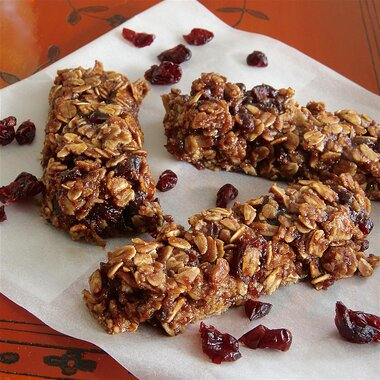 healthy nutella granola bars recipe
