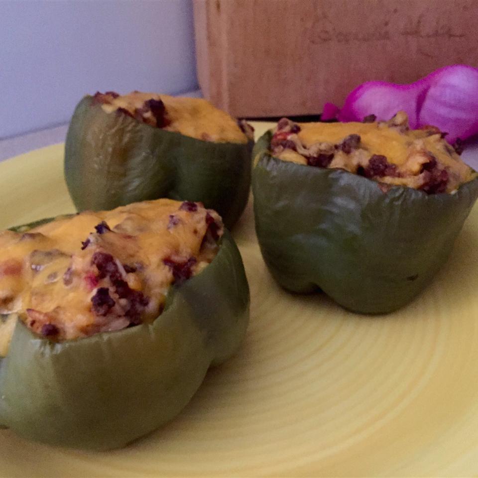 Stuffed Green Peppers I rattysol