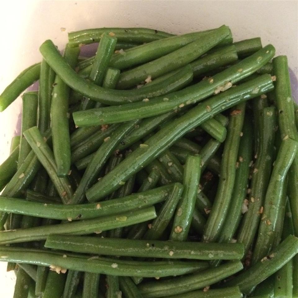 Buttery Garlic Green Beans Jill Feher