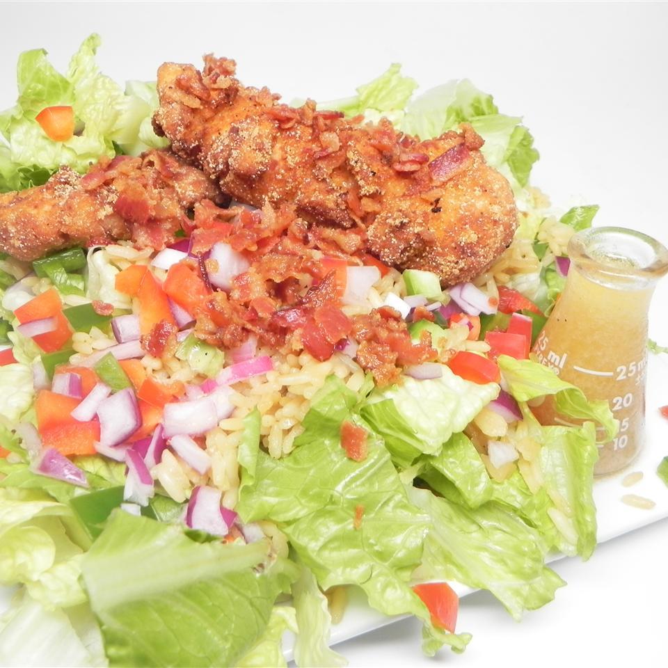 Shawna's Southern Fried Chicken Salad