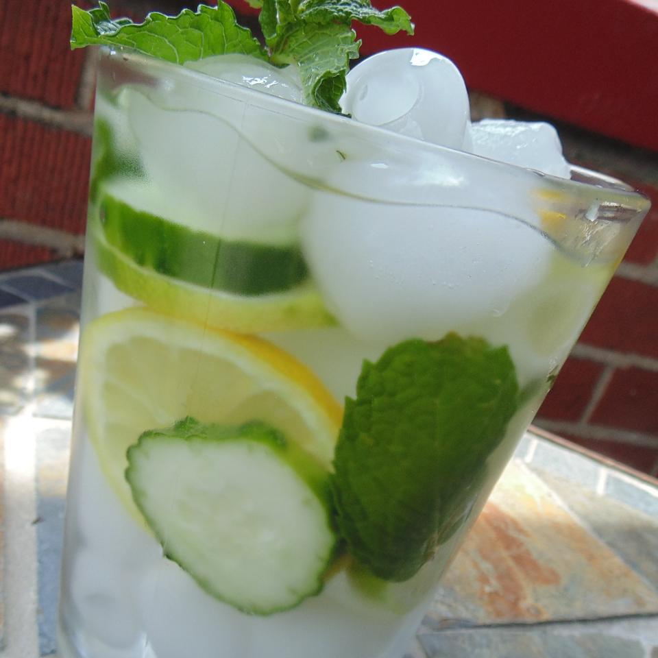 Mint Citrus Water Christina