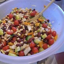 Summer Bean Salad I Leah