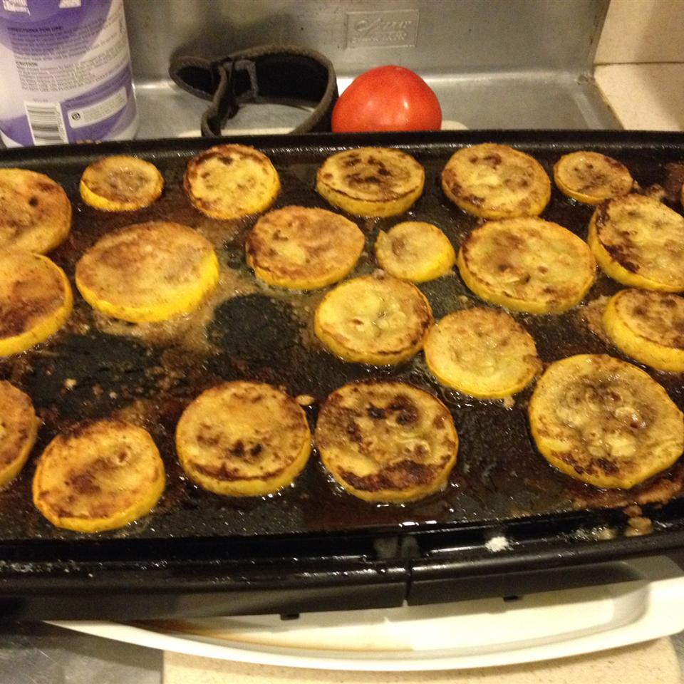 Sweet Fried Summer Squash Astahl