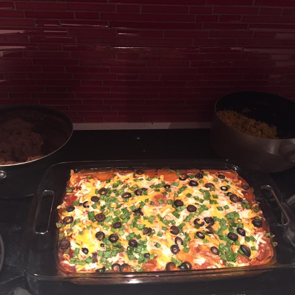Angela's Awesome Enchiladas Jayme