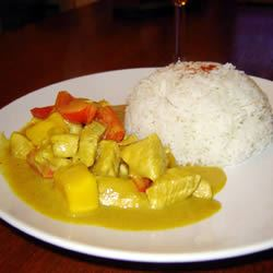 Spicy Indian Chicken and Mango Curry Michelle Ellen