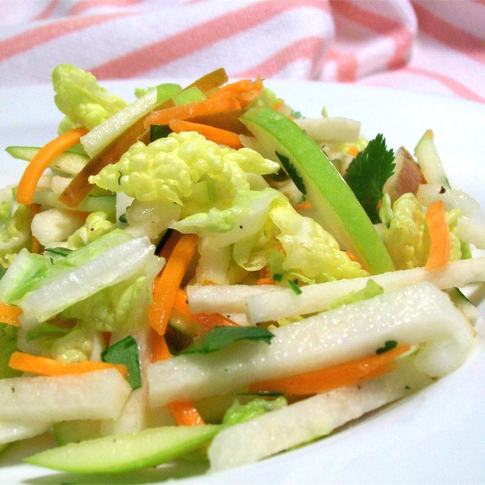Jicama, Carrot, and Green Apple Slaw SunnyByrd