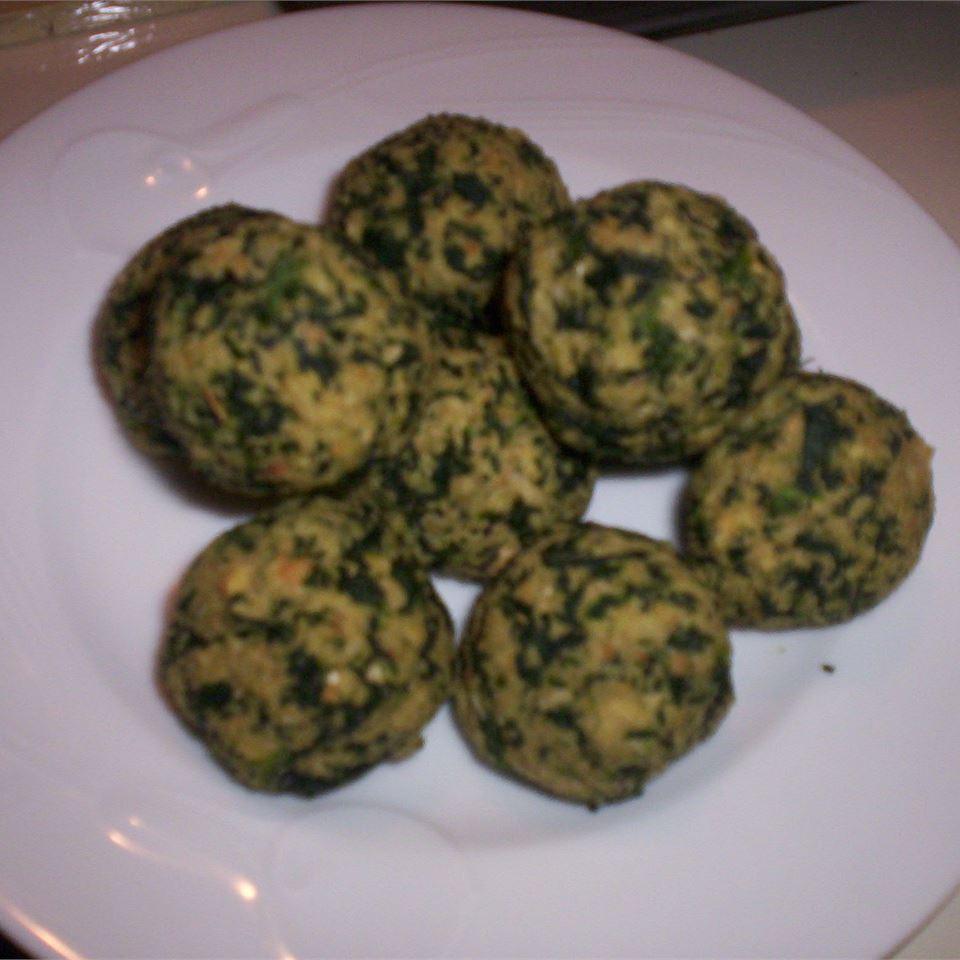 Spinach Balls Michelle