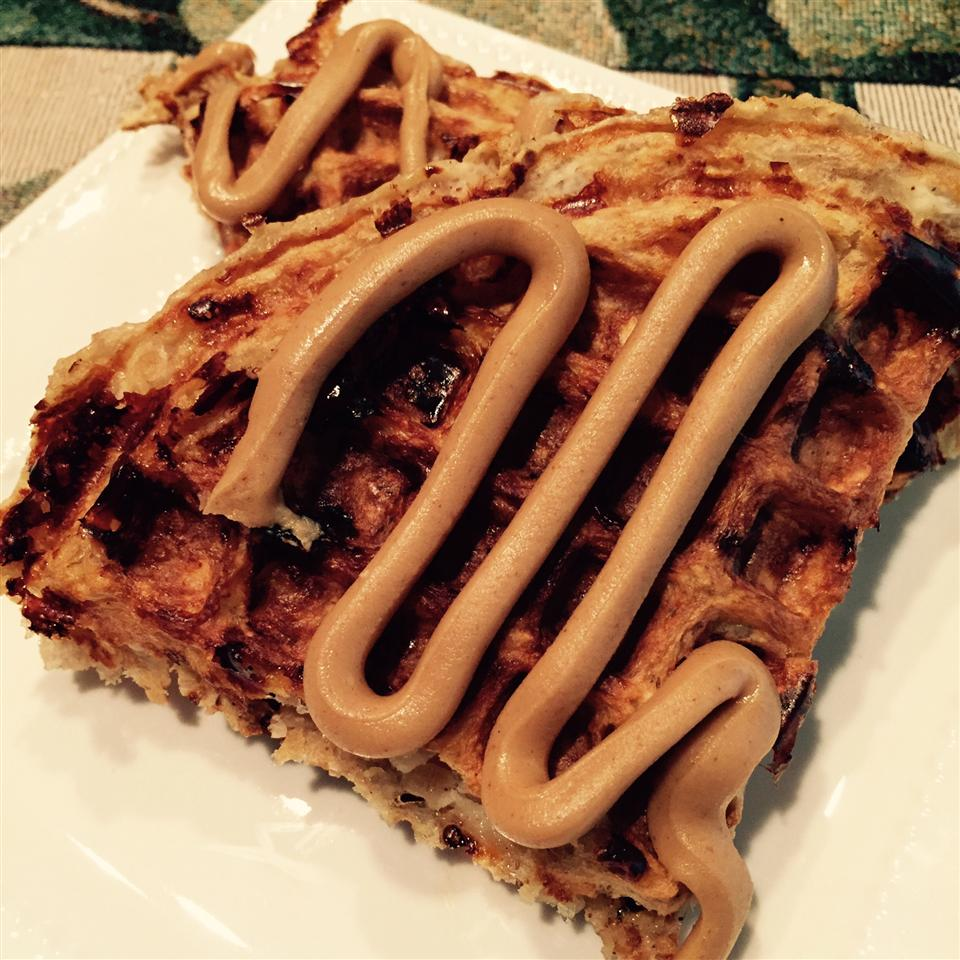 Protein Waffles thedailygourmet