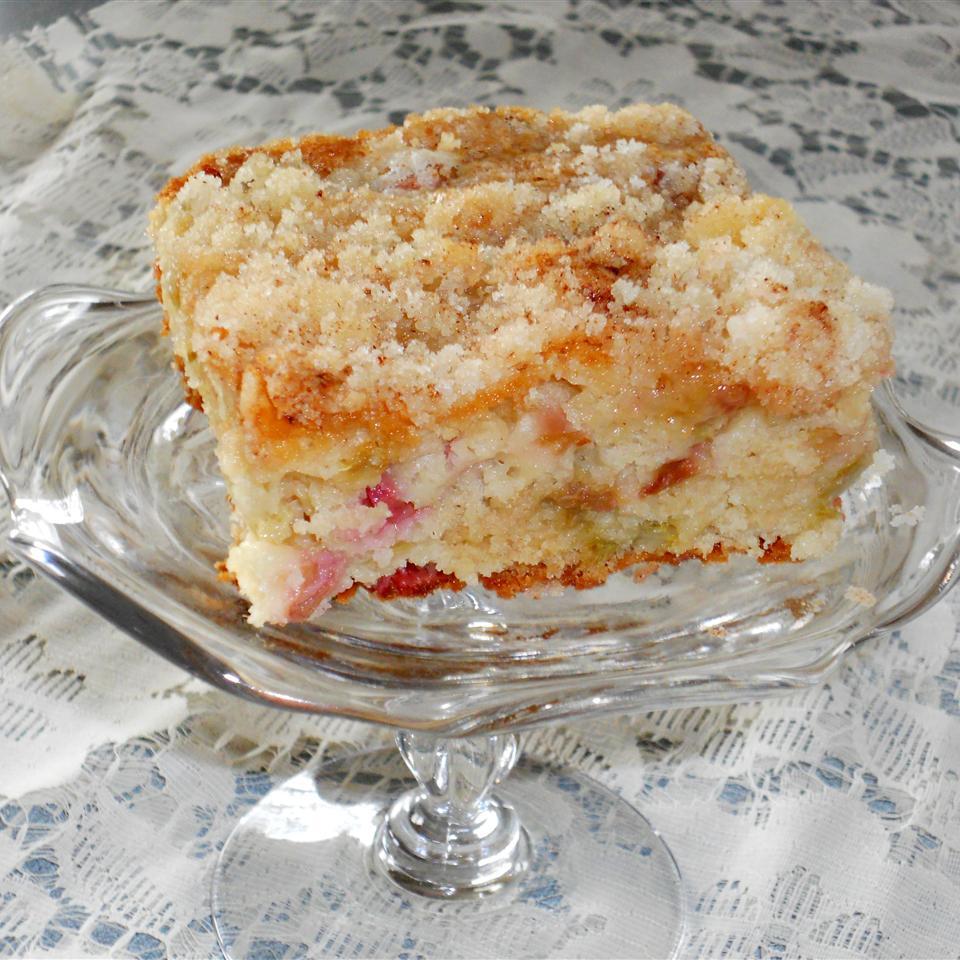 Oma's Rhubarb Cake Autumneyes