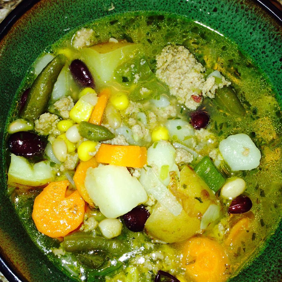 Tarragon-Turkey Soup Katherine