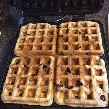 yeast waffles recipe